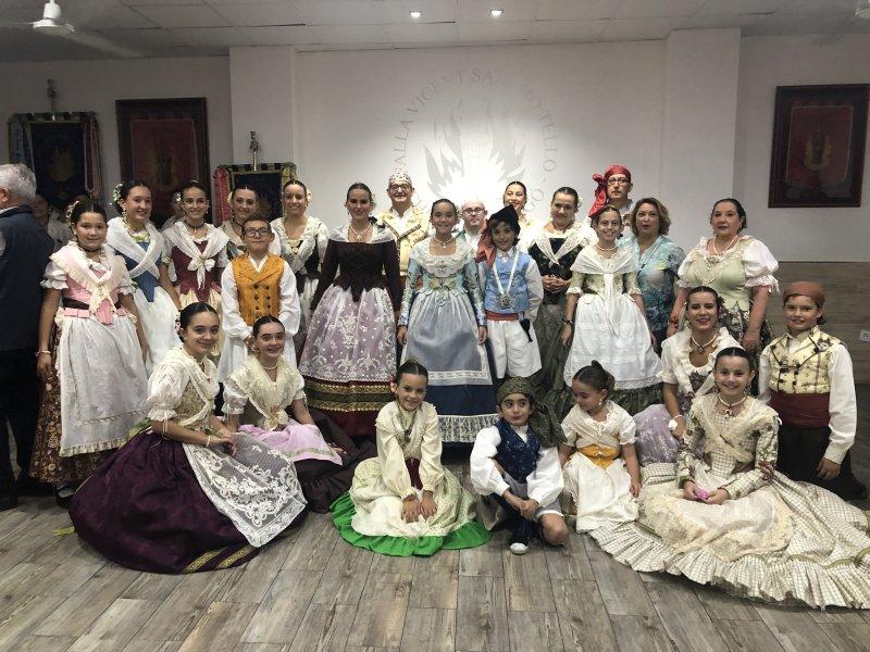 10ª Dansà popular Falla Vicente Sancho Tello