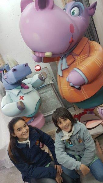 """Visita monumento infantil 2020: ESCOLA INFANTIL """"Animals de bolquers"""""""