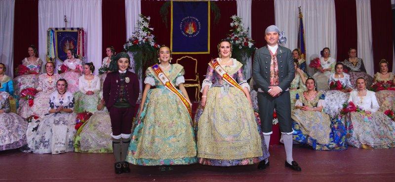 Exaltacion FFMM y sus Cortes de Honor 2020