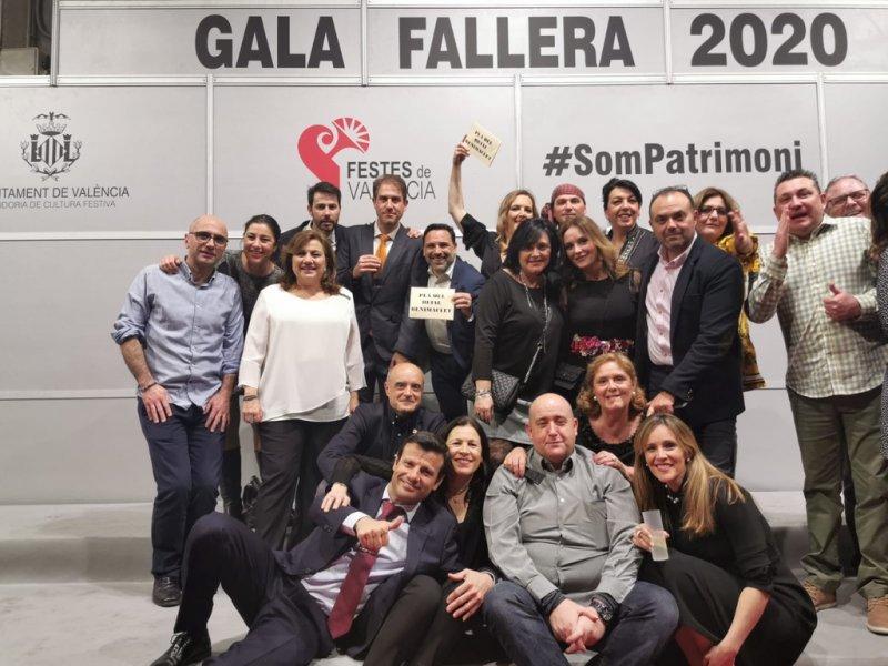 Gran Gala Fallera 2020 en Feria Valencia