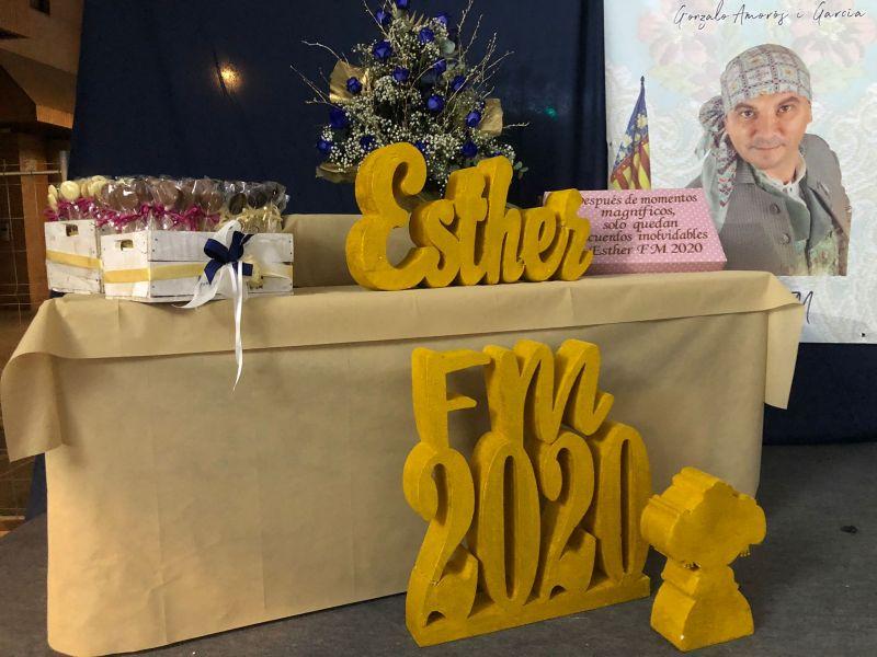 Cena Fallera Mayor 2021 Esther Zaragozá Juan