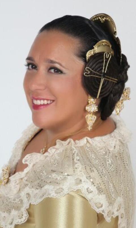 Fallera Mayor 2014. Matty Arenas Torres - FM2014